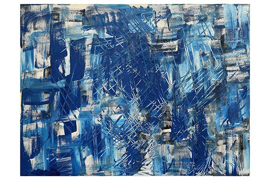 Pilar Lasierra - Acrílico sobre lienzo - 130 x 97 cm