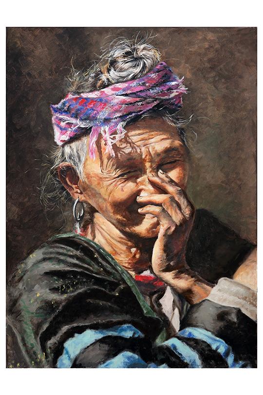 Jesús Sánchez Pulgar - Óleo sobre lienzo - 73 x 54 cm