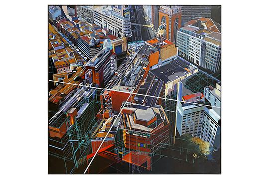 Josep Frances Anaya - Óleo sobre lienzo - 150 x 150 cm