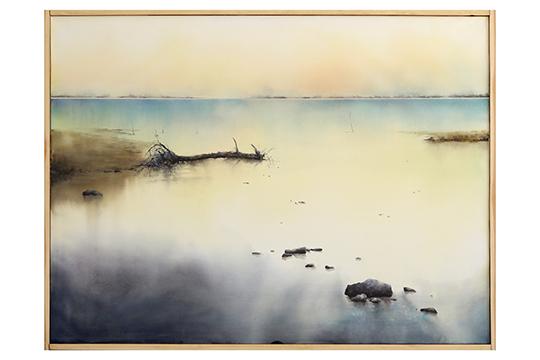 Kihong,Chung - Acuarela y tinta china sobre papel 300g - 110 x 146 cm