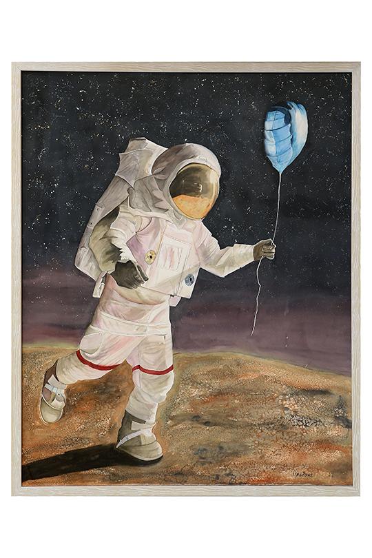 Francisco Florián Martínez Blasco - Acuarela sobre papel - 120 x 95 cm
