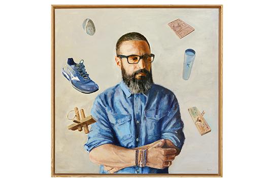 Francisco Abel Vellarino Díaz - Óleo - 120 x 120 cm
