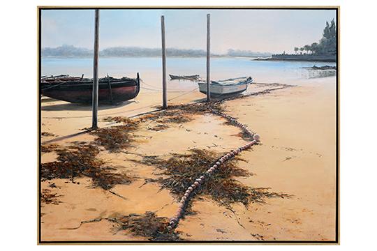 Manuel Carballeira Rivas - Mixta sobre lienzo - 114 x 146 cm
