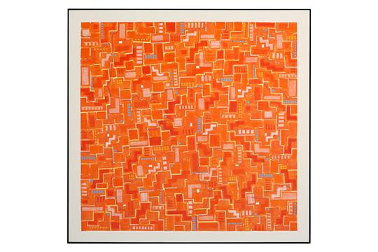Purificación Villafranca Castillo - Mixta sobre papel - 140 x 140 cm