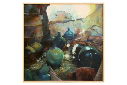 Adoración Fernández Merino - Óleo sobre lienzo - 100 x 100 cm