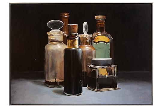 José Baena Roca - Acrílico sobre tela montada en tabla - 100 x 150 cm