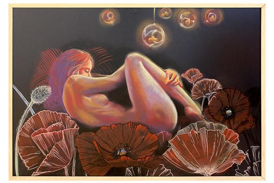 Adoración Merino Fernández - Pastel sobre papel - 120x82