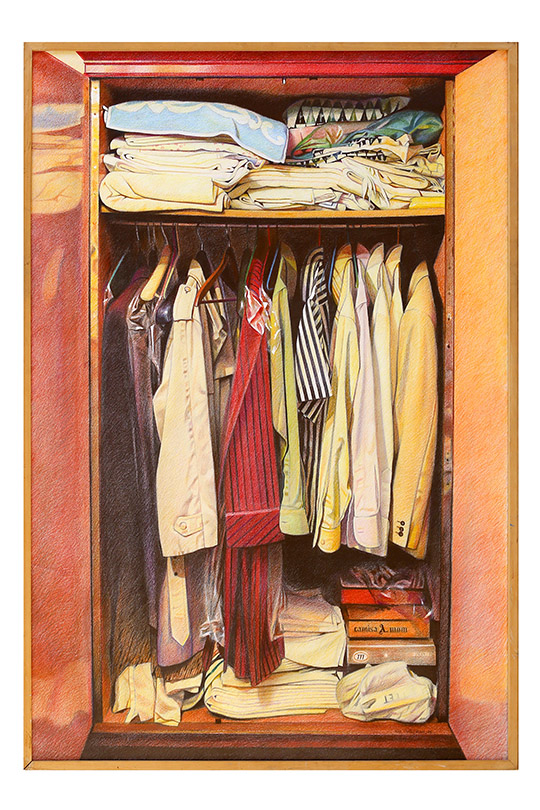 Luis Jesús Duque Martín - Lápices de colores sobre papel - 150x110