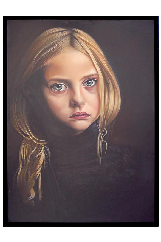 Eloisa Adámez Villar - Lápiz Pastel - 100x140