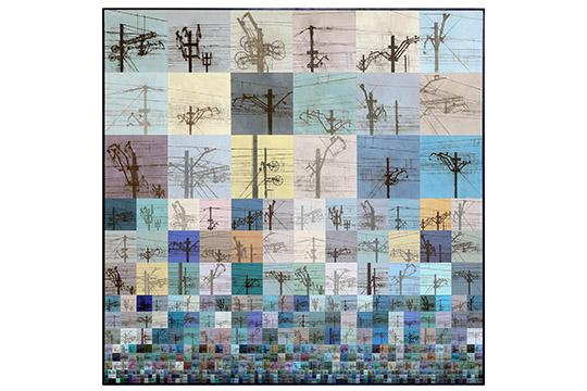 Guillermo Pérez Masedo - Acrilíco y lápiz sobre tabla - 150x150