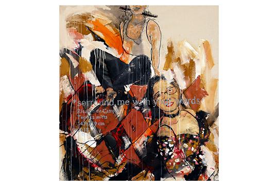 Ricardo de Campos - Mixta sobre lienzo - 145x130