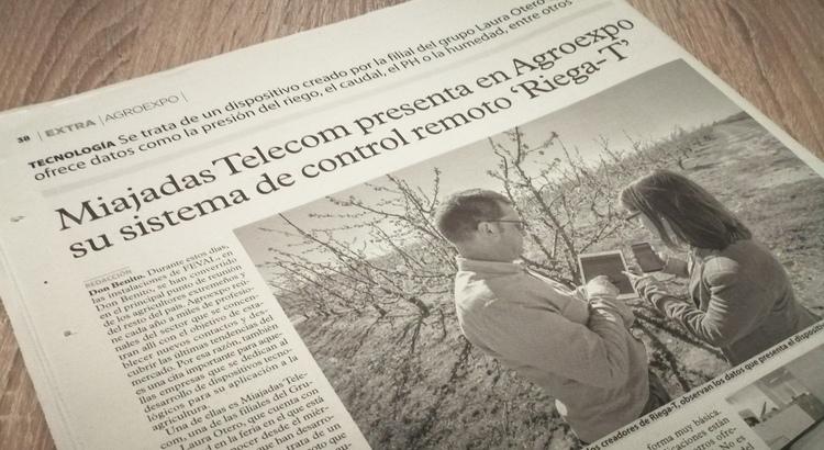 Miajadas Telecom Agroexpo