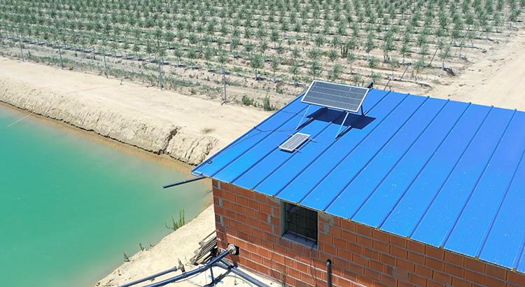 Glo-placa-solar-regadio